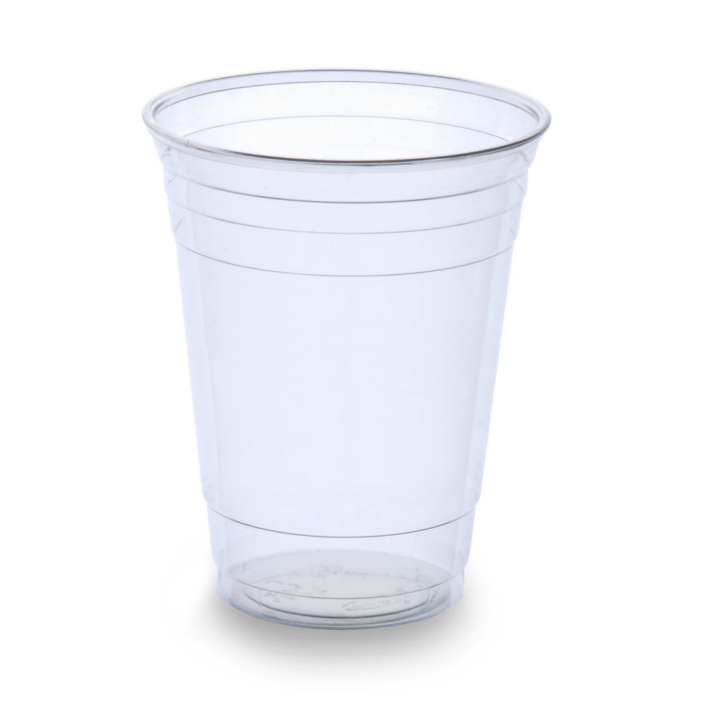 plastic cup;