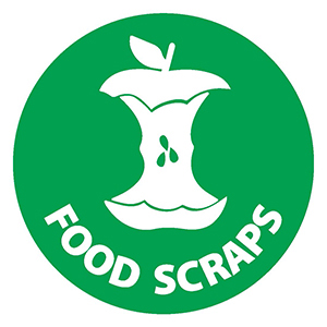 Organic Food Scraps Only Sign