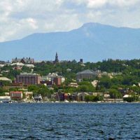 Burlington, Vermont skyline