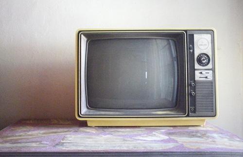 An old TV.